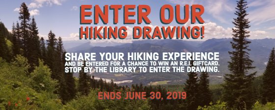Enter Our Hiking Drawing!