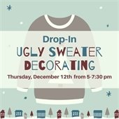 Ugly Sweater Decorating