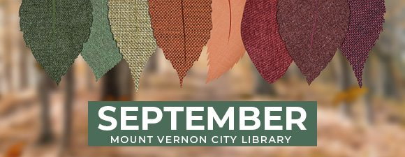 September at Mount Vernon City Library