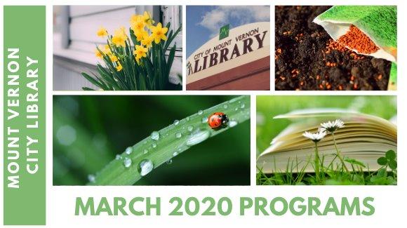 March 2020 Programs