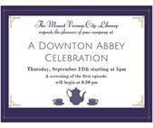 A Downton Abbey Celebration