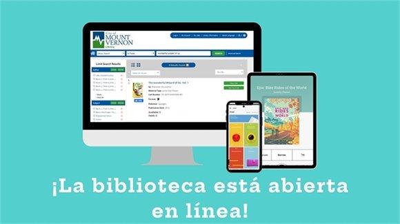 ¡La biblioteca está abierta en línea!