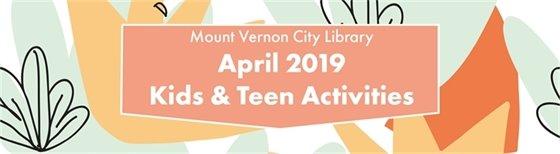 April Kids & Teen Activities