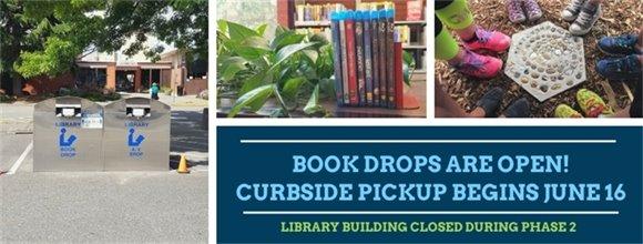 Bookdrops Open!
