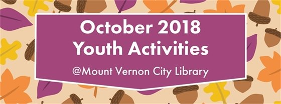 October 2018 Youth Activities