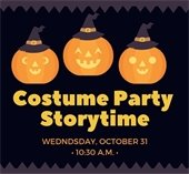 Costume Party Storytime