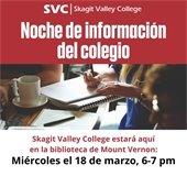 Noche de informacion del colegio- SVC