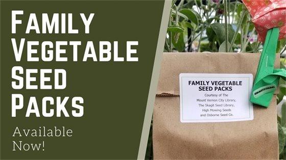 Family Vegetable Seed Packs