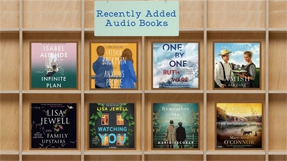 Recently Added Audio Books