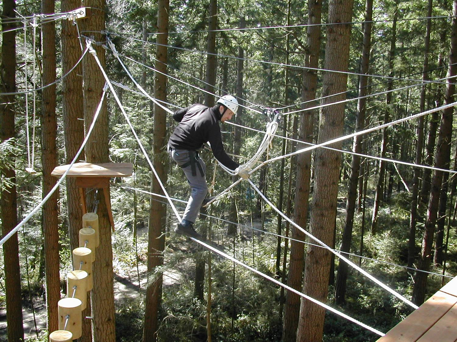 Eagle Rock Challenge Course