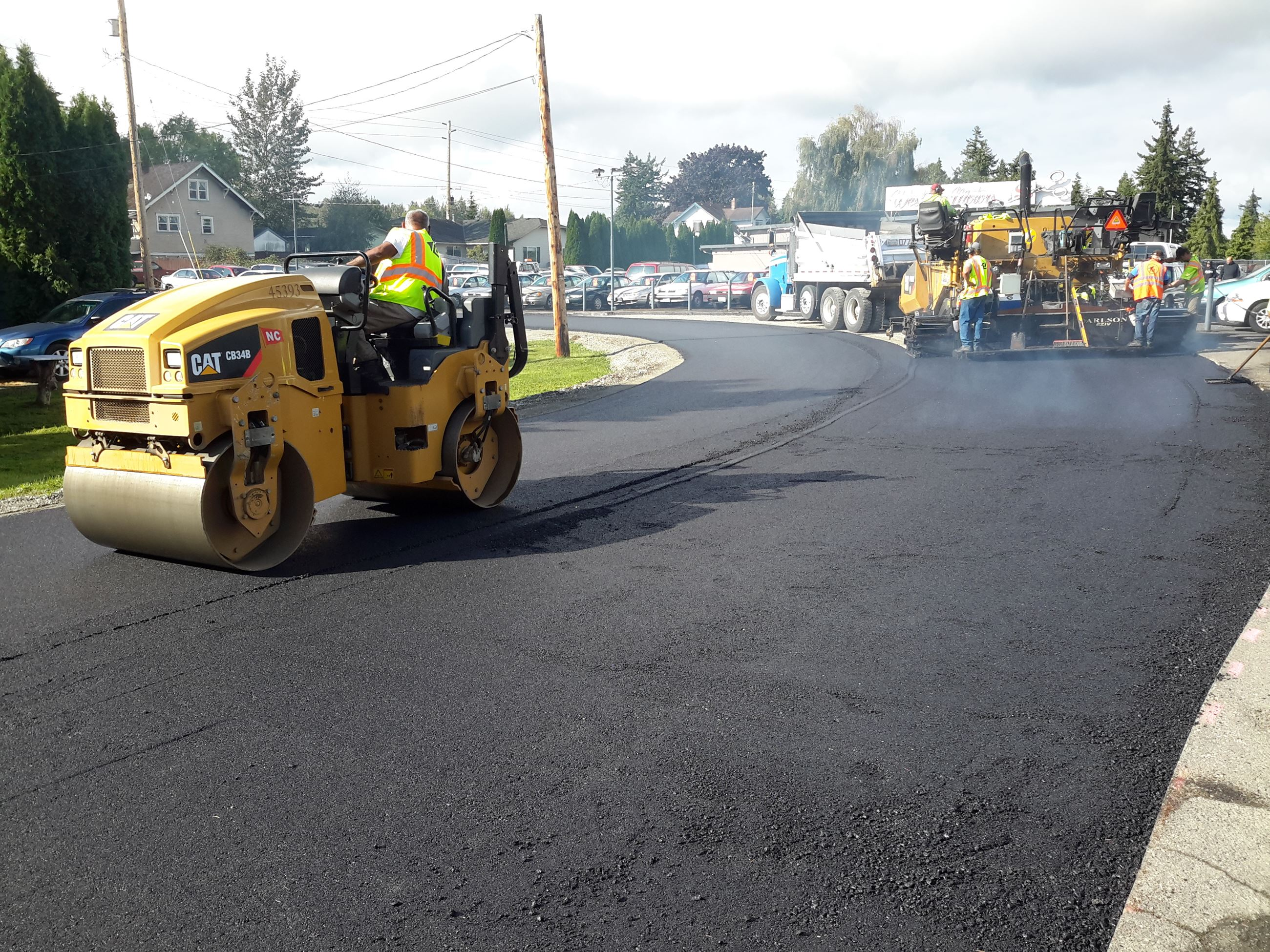 Paving by Lakeside Ind