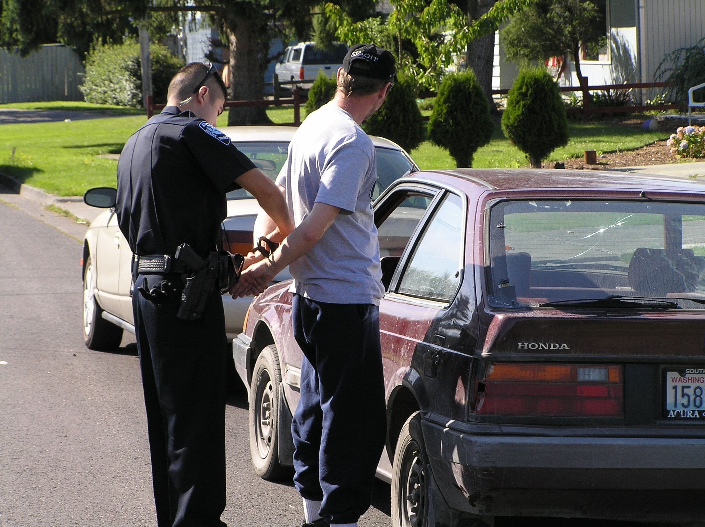 Serrano Making An Arrest