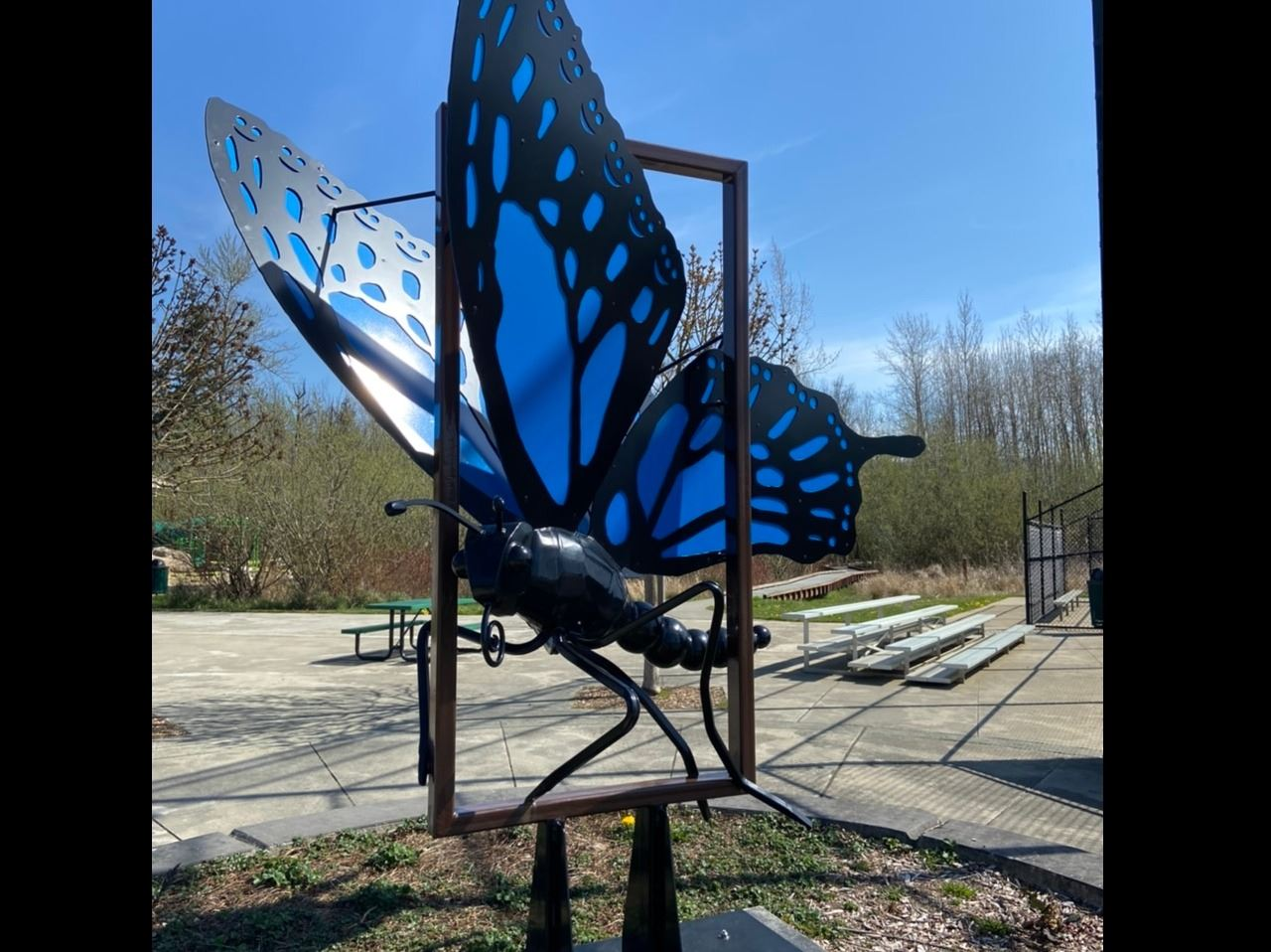 Butterfly Sculpture
