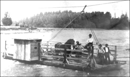 Gravity Ferry, Skagit River