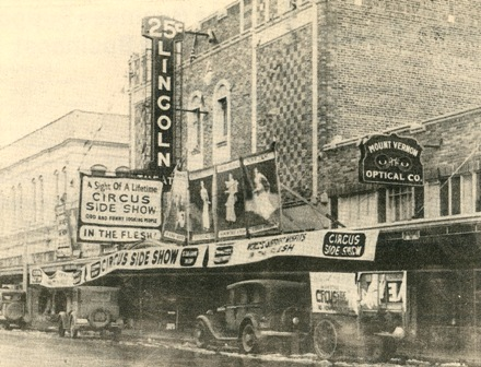 Lincoln Theatre Facade in 1926